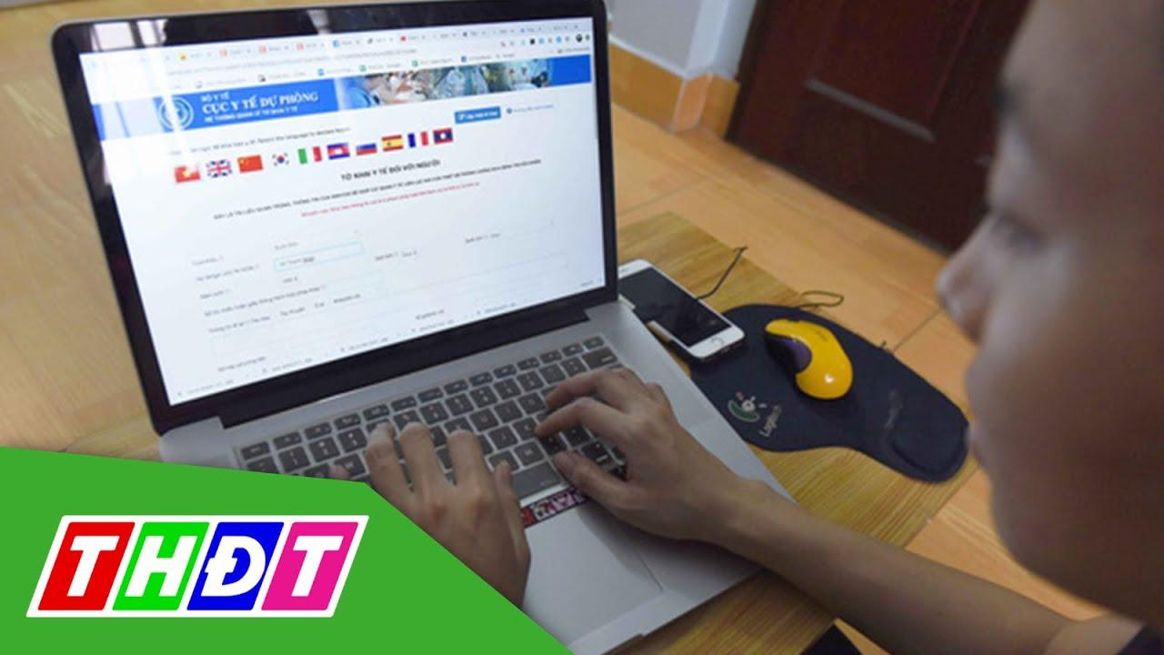 10/3/2020 bắt đầu khai báo y tế tự nguyện | THDT