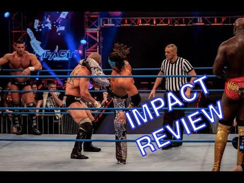Killer Kross & Moose vs. Johnny Impact & Brian Cage   IMPACT Wrestling Full Show Review 3.1.19
