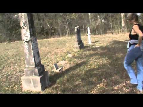 Tour of Millican Cemetery Brazos County Texas