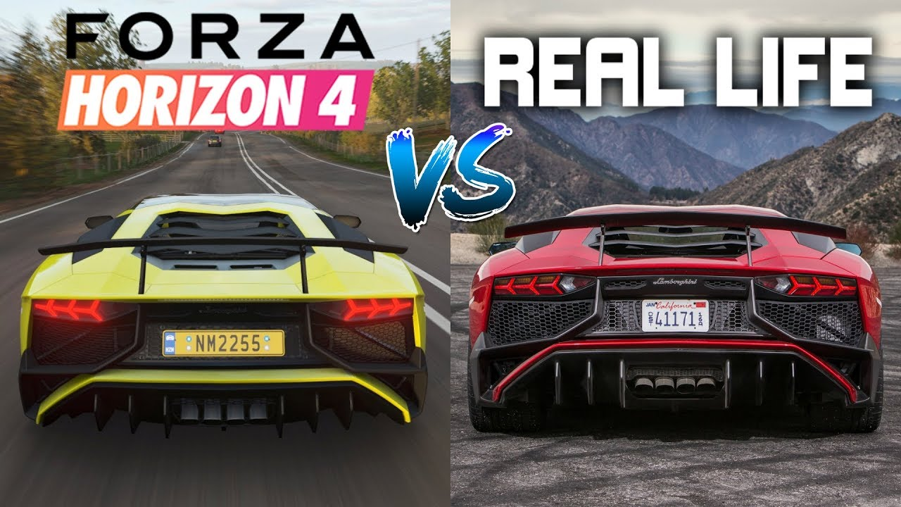 Here's How Forza Horizon 4's Engine Sounds Compare To The