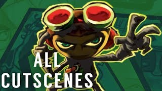 Psychonauts All Cutscenes (Game Movie)(HD)