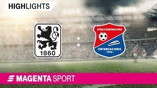 1860 München - SpVgg Unterhaching | Spieltag 28, 18/19 | MAGENTA SPORT