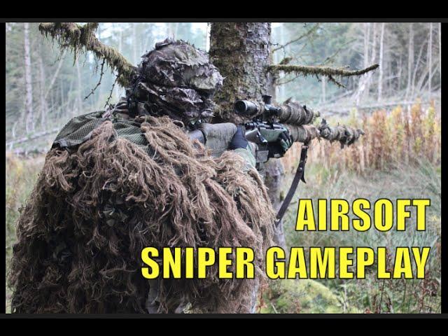 AIRSOFT SNIPER GAMEPLAY