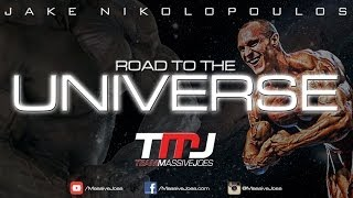 Jake Nikolopoulos Road to The Universe 2014 | Episode 12: Chest Workout | MassiveJoes.com