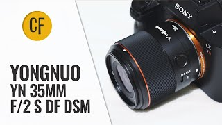 lensa Yongnuo YN 35mm F2 S DF DSM YN35MM F2 DSM Full Frame AF Lens For Sony E Mount