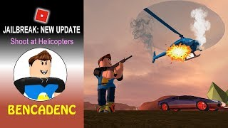 ROBLOX JAILBREAK | A LAMBORGHINI OWNER CRIMINAL SHOOT DOWN COPS' HELICOPTERS