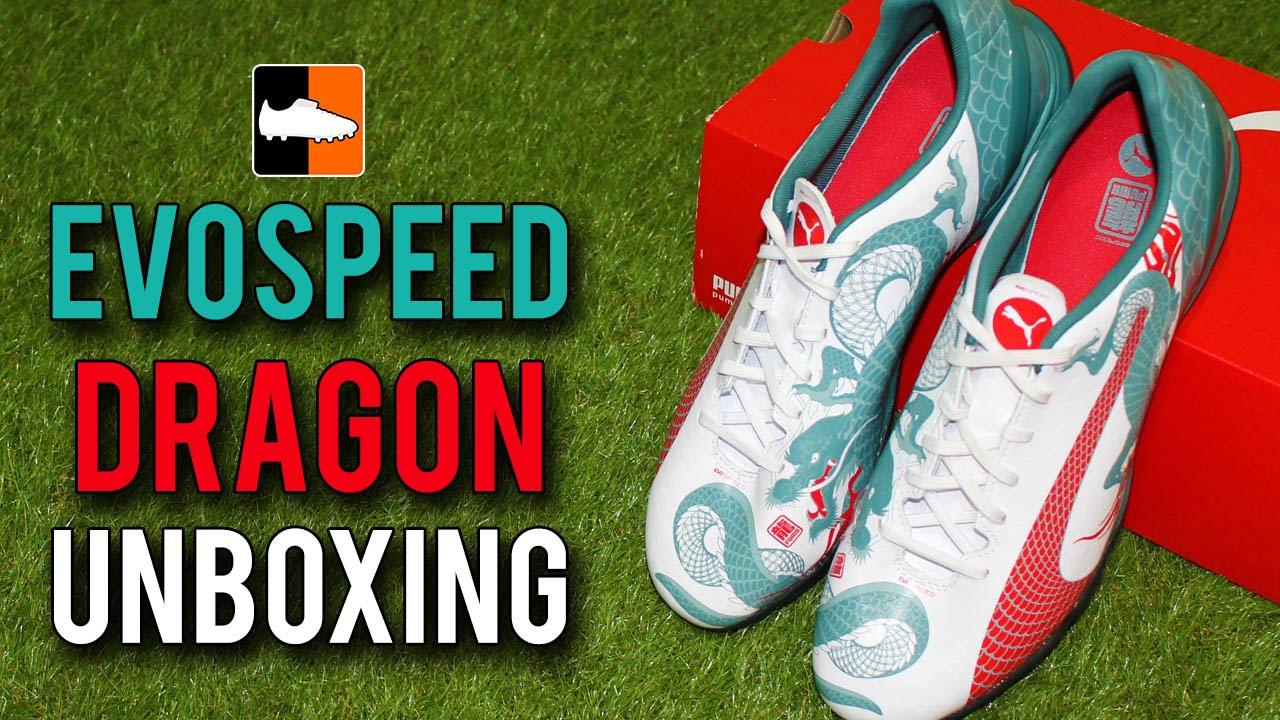 new style 8ea8f ad1f3 PUMA evoSPEED LE Unboxing - Dragon Edition + GIVEAWAY! - YouTube