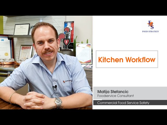 Foodservice Safety Design Tips - Kitchen Workflow | Commercial Kitchen Design