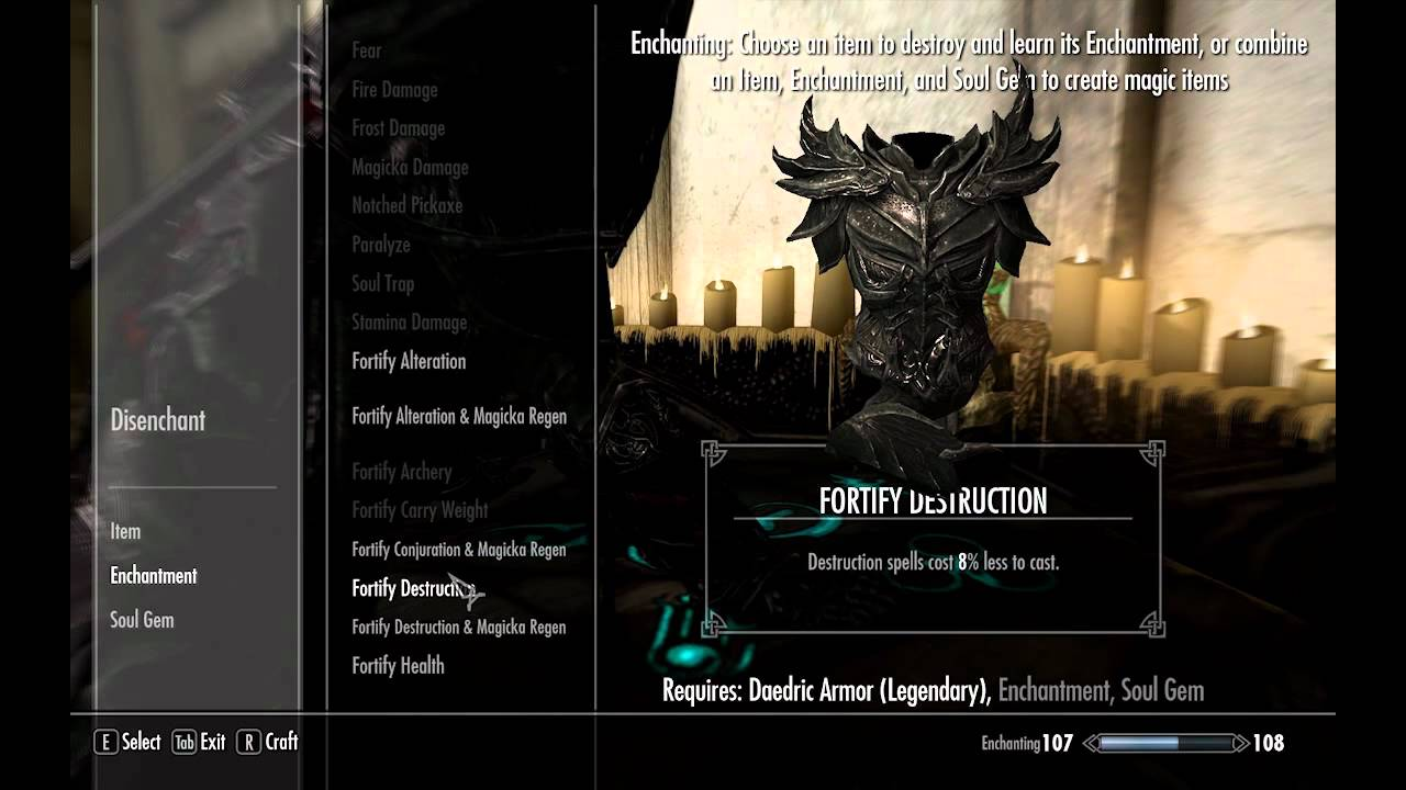 Daedric Armor How to 1000+ Armor in ...