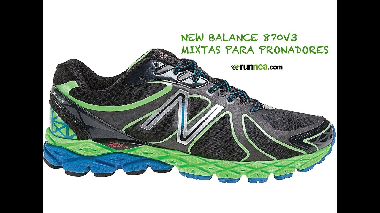 zapatillas new balance running pronador