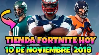 STORE *FORTNITE TODAY NOVEMBER 10, 2018 - SKINS *NFL