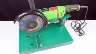 Homemade Angle Grinder Stand /// Angle Grinder Support..