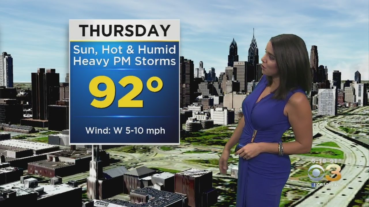 Philadelphia Weather: Another Hot Day Thursday