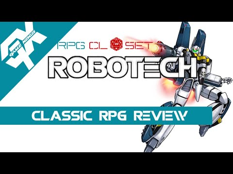 The RPG Closet: Robotech the Role Playing Game Review