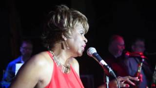 Maxine Brown performing a Gin House Blues at Cleethorpes 2016