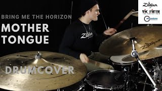 Bring Me The Horizon - mother tongue - drum cover/remix #newmusicfriday
