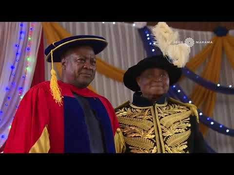 Igbinedion University Okada honours HE John Dramani Mahama