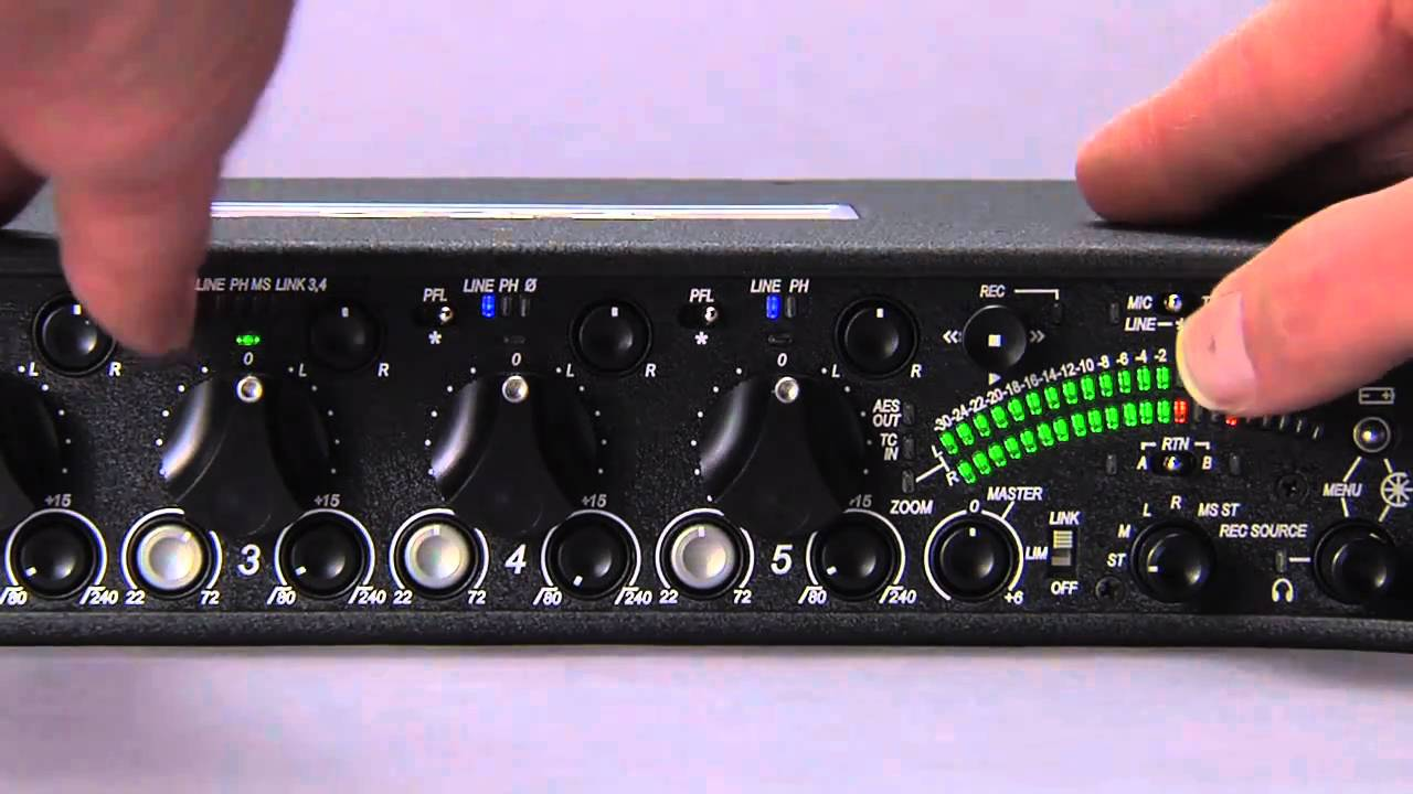 Sound Devices 552 Field Mixer Driver PC