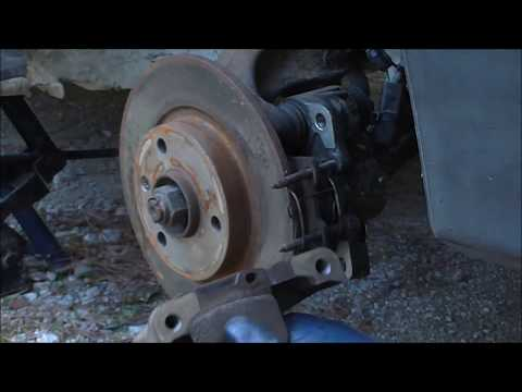 How to Replace Brake disc and Pads Αντικατάσταση Δίσκου και Τακάκια Φρένων Yiannis Pagonis