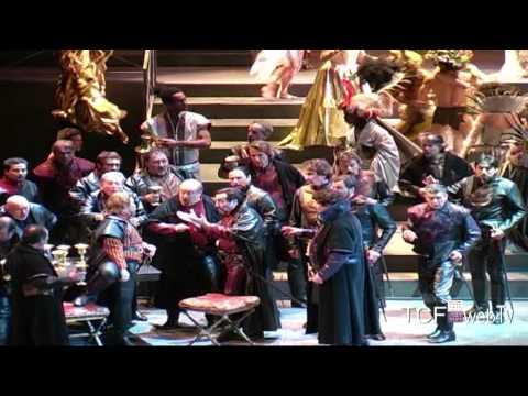 Intervista - Giovanni Di Cicco - Rigoletto al Teatro Carlo Felice di Genova