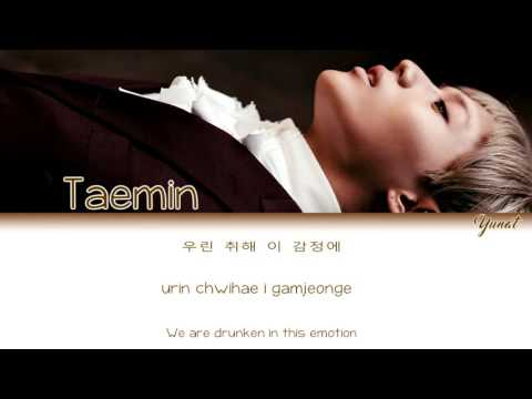 Taemin - Sexuality (Color Coded HanRomEng Lyrics) by Yunat