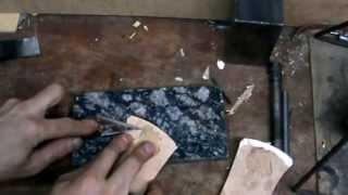 Ремонт обуви. Ремонт подошвы ,переломанной у каблука   repair of the broken sole /(what produce repair of the broken sole ./ ремонт переломанной у каблука подошвы., 2013-04-28T12:46:03.000Z)