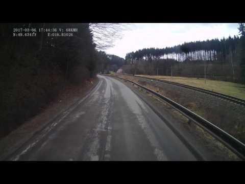 Czech Republic. Road II/366, 40-77 km. 2017-03, 1x