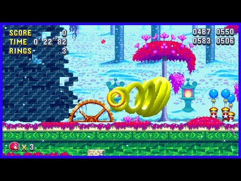 Secret Level Select Menu and Debug Mode Code! Sonic Mania