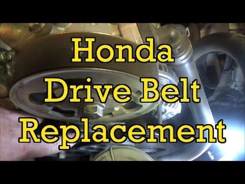 Honda Accord 24L Drive Belt (Serpentine) Replacement (I4) 2004