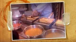 Tsukiji Tokyo specialty Japanese omelette & seasoned tuna bowl