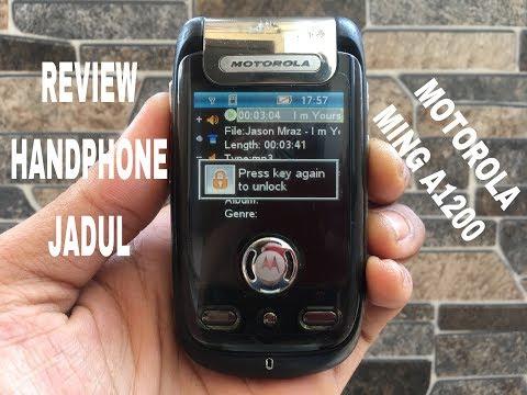 Review Handphone Jadul Motorola Ming A1200 Hp Jadul Langka Klasik Antik Nostalgia