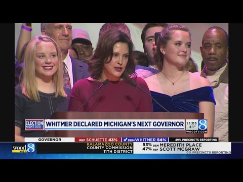Gretchen Whitmer elected Michigan governor