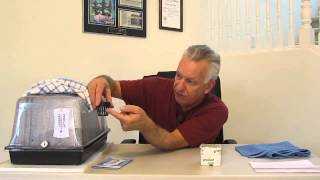 How to germinate your seeds in a germination tray utalizing a heating pad