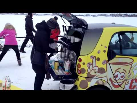 Coffee Car Station Mobile Business Barista Take Away