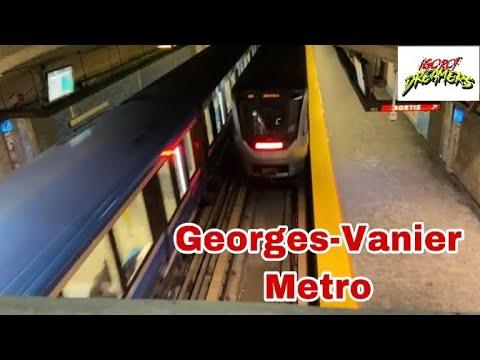 Georges-Vanier Metro ll Montreal Metro Station