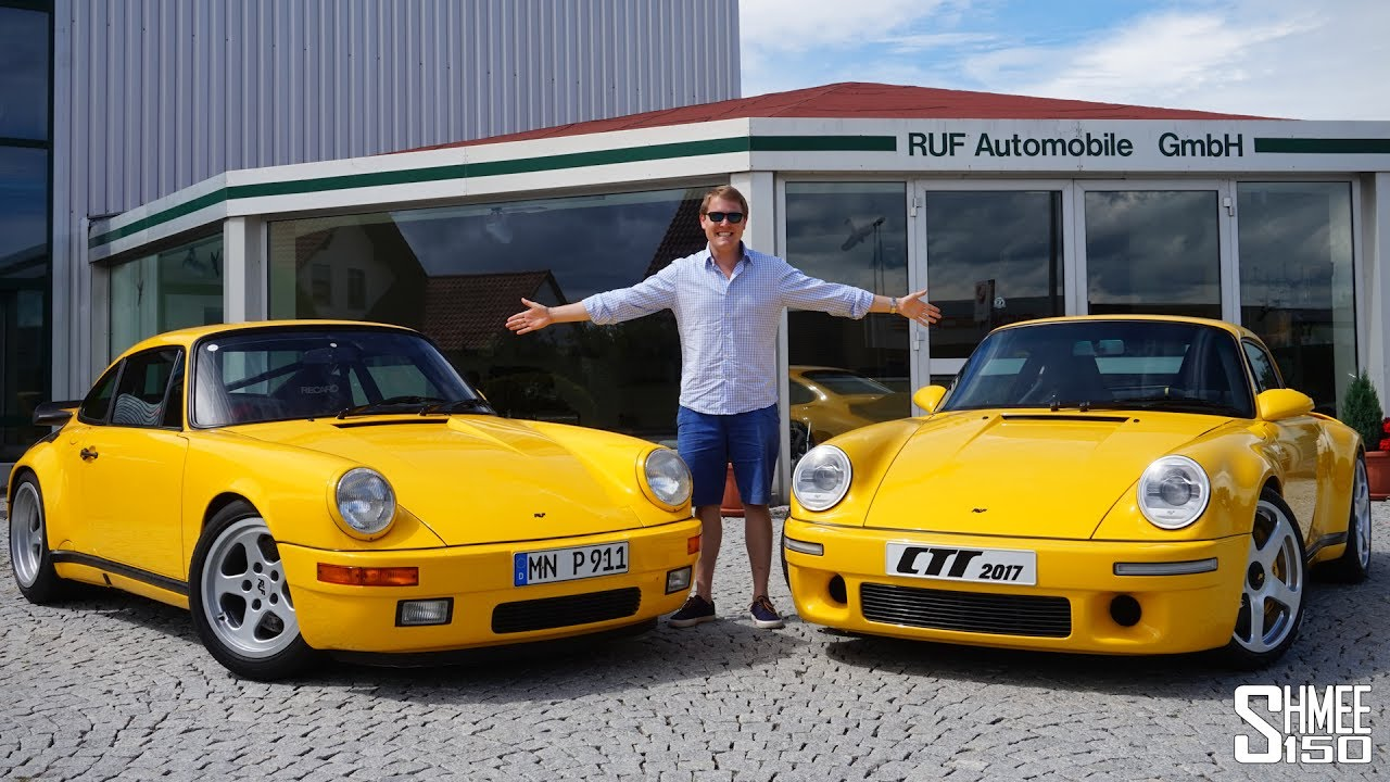 The RUF CTR Yellowbird is the Ultimate 911!