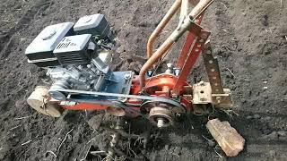 Мотоблок Урал с китайским двигателем.
