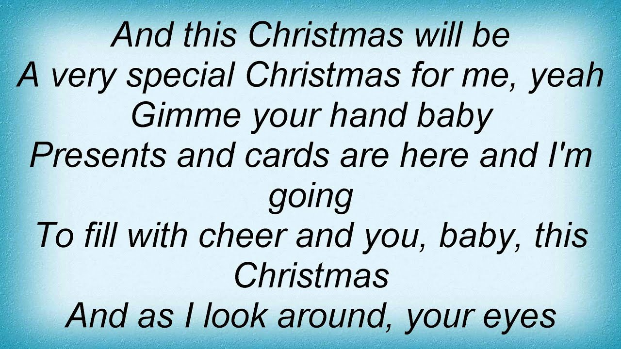 macy gray this christmas hang all the mistletoe lyrics - And This Christmas Will Be A Very Special Christmas