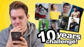 POGAĐAM YOUTUBERE (#10YEARSCHALLENGE) | Dennis Domian