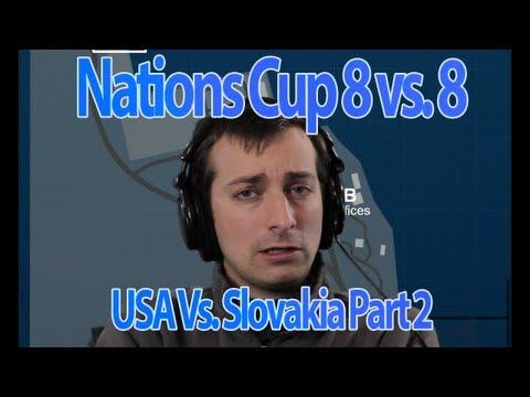 USA vs Slovakia on Kharg 8v8 Dual Commentary Part 2!