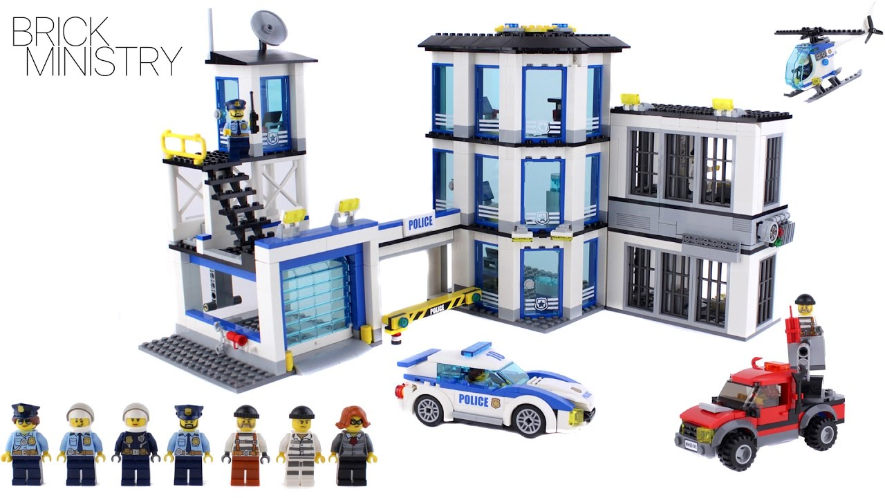 LEGO 60141 CITY POLICE STATION - YouTube