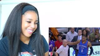 RUSSELL WESTBROOK FUNNY MOMENTS | Reaction