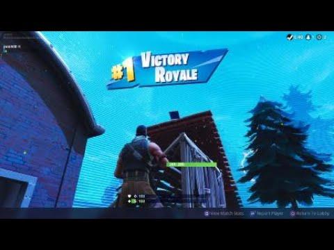 Fortnite - Cat & Mouse Solo Win