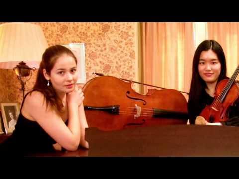 Passacaglia - Naoka Aoki (violin) Laura Moinian (cello)