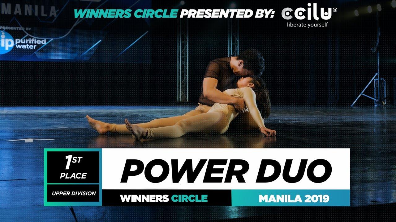 Power Duo | 1st Place Upper | Winner Circle | World of Dance Manila Qualifier 2019 | #WODMNL19