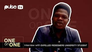 Expelled Student of Redeemers University Adebowale Speaks  One on One  Pulse TV