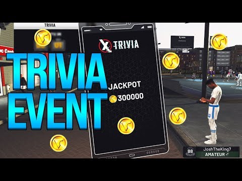 WORLDS FIRST TRIVIA GAME IN NBA 2K19!