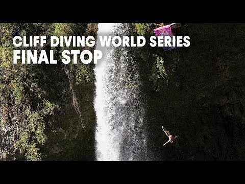 The final stop of the Red Bull Cliff Diving World Series