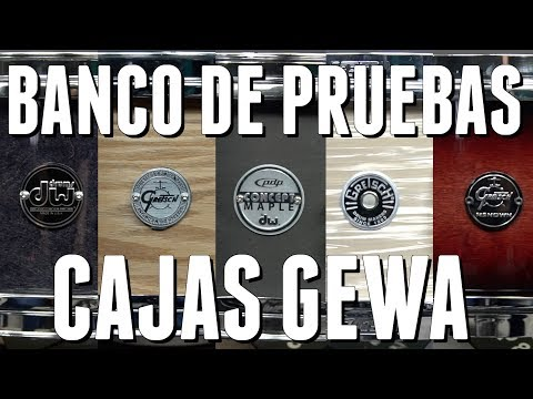 CAJAS - DW - GRETSCH - PDP - BANCO DE PRUEBAS
