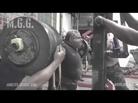 Powerlifting training monster garage gym: elitefts coaching log